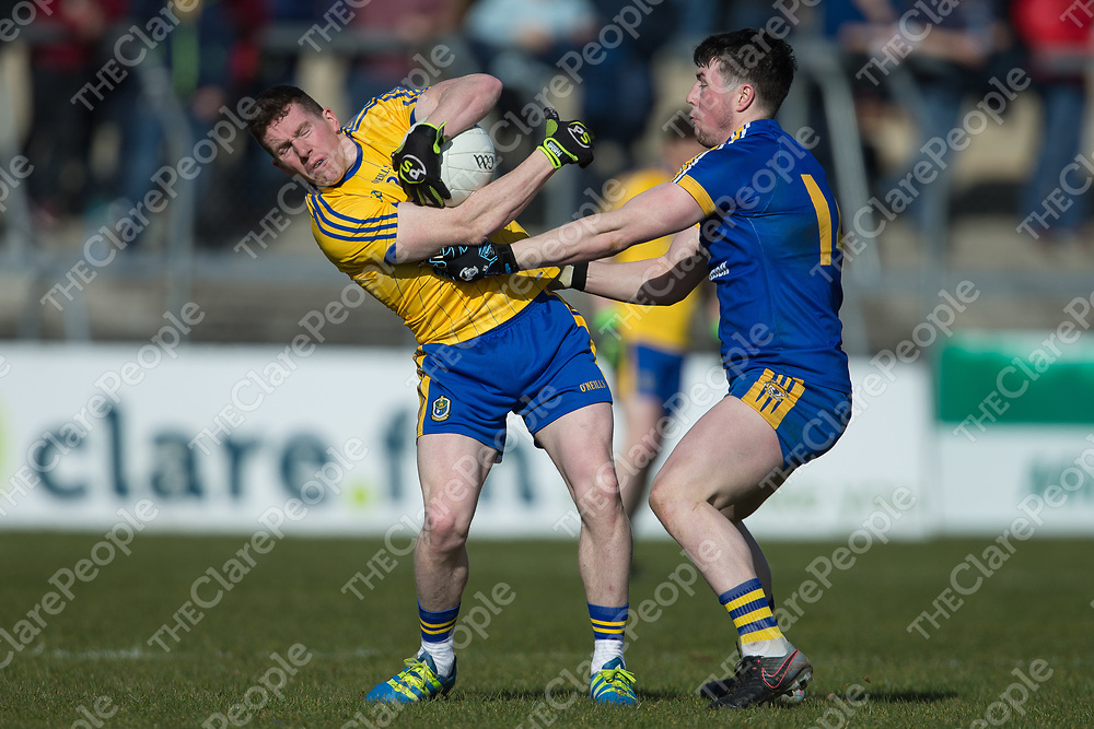 Clare's Keelan Sexton V Roscommon's Sean McDermott