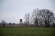 Gatow, Berlin/Brandenburg border