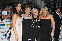 Andrea McLean; Denise Welch; Lisa Maxwell; Sally Lindsay Pride of Britain Awards, Grosvenor House Hotel, London, UK. 03 October 2011. Contact: Rich@Piqtured.com +44(0)7941 079620 (Picture by Richard Goldschmidt)