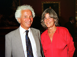 LORD & LADY GAVRON at an exhibition in London on 7th September 1999.MUY 52
