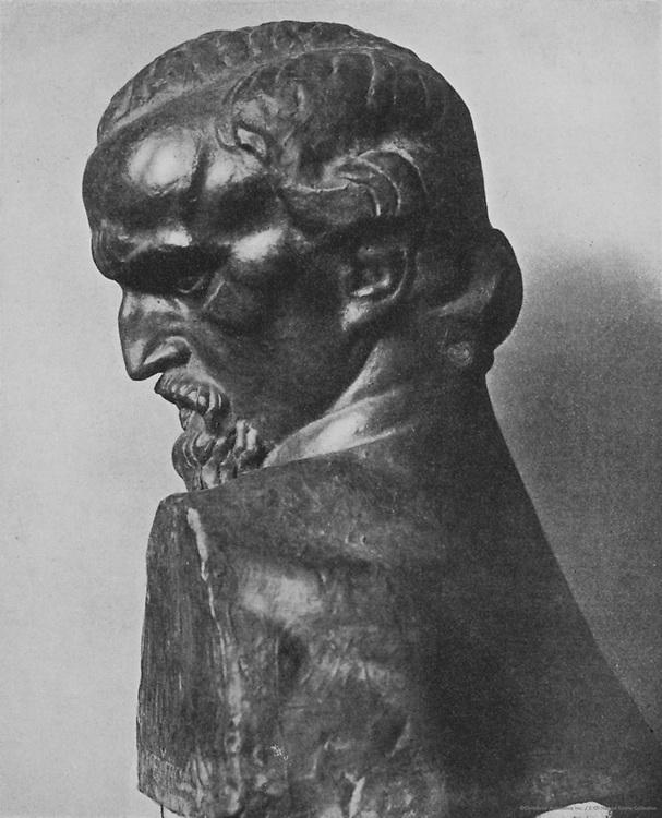 Ivan Mestrovic sculpture, Yugoslavia, 1915