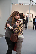 PRIYA VANDREVALA; DORIT MOUSAIEFF ( wife of  the President of Iceland, Opening of Frieze Masters. Regent's Park. London. 15 October 2013.