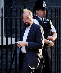© Licensed to London News Pictures. 13/09/2016. London, UK.  NICK TIMOTHY, advisor to Theresa May arrives at 10 Downing Street in London on September 13, 2016. Photo credit: Ben Cawthra/LNP