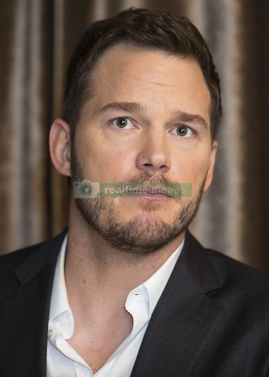 December 7, 2016 - Hollywood, California, U.S. - CHRIS PRATT promotes 'Passengers.' Christopher Michael 'Chris' Pratt (born June 21, 1979 Virginia, Minnesota) is an American actor. He came to prominence from his television roles, including Bright Abbott in Everwood (2002–2006) and Andy Dwyer in the NBC sitcom Parks and Recreation (2009–2015). His early film career began with supporting roles in such mainstream films as Wanted (2008), Moneyball (2011), The Five-Year Engagement (2012), Zero Dark Thirty (2012), Delivery Man (2013), and Her (2013) before achieving leading man status in 2014 after starring in two commercially successful films: The Lego Movie, a computer-animated adventure comedy; and Guardians of the Galaxy, a superhero film produced by Marvel Studios in which he portrayed Peter Quill / Star-Lord. In 2015, he starred in Jurassic World, the fourth installment in the Jurassic Park franchise and his most financially successful film. In 2015, Time Magazine named Pratt one of the 100 most influential people in the world on the annual Time 100 list. Upcoming: Untitled Jurassic World Sequel (2018), Avengers: Infinity War (2018), Guardians of the Galaxy Vol. 2 (2017), Passengers (2016). (Credit Image: © Armando Gallo via ZUMA Studio)