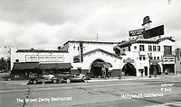 1938 Hollywood Brown Derby on Vine St.