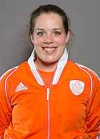 ROTTERDAM - HOCKEY - LARISSA MEIJER. Nederlands Hockeyteam vrouwen voor de Rabo Hockey World League. Foto Koen Suyk