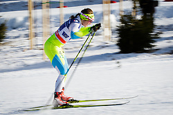 Alenka Cebasek (SLO) during the ladies team sprint race at FIS Cross Country World Cup Planica 2016, on January 17, 2016 at Planica, Slovenia. Photo by Ziga Zupan / Sportida
