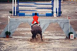 Lansink Jos, BEL, Egano<br /> Olympic Games Barcelona 1992<br /> © Hippo Foto - Dirk Caremans<br /> 20/04/2021