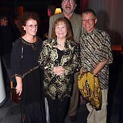 Galaconcert Anneke Grönloh Den Haag, Wieteke van Dort en man Theo Moody en vrienden