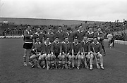 17/03/1970<br /> 03/17/1970<br /> 17 March 1970<br /> Railway Cup Final: Munster v Leinster at Croke Park, Dublin.<br /> The Munster team that won the 1970 Railway Cup Final.