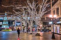 Westlake Park & Westlake Center, Downtown Seattle
