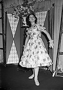 "26/03/1957<br /> 03/26/1957<br /> 26 March 1957<br /> Fashion Show: ""Frock Around the Clock"" at the Gresham Hotel, Dublin."