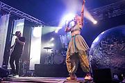 Henham Park, Suffolk, 20 July 2019. Aurora plays the BBC Sounds Stage - The 2019 Latitude Festival.