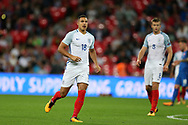 Jake Livermore of England looks on. FIFA World cup qualifying match, European group F, England v Slovakia at Wembley Stadium in London on Monday 4th September 2017.<br /> pic by Andrew Orchard, Andrew Orchard sports photography.