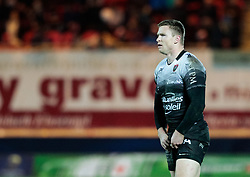 Toulon's Chris Ashton<br /> <br /> Photographer Simon King/Replay Images<br /> <br /> European Rugby Champions Cup Round 6 - Scarlets v Toulon - Saturday 20th January 2018 - Parc Y Scarlets - Llanelli<br /> <br /> World Copyright © Replay Images . All rights reserved. info@replayimages.co.uk - http://replayimages.co.uk