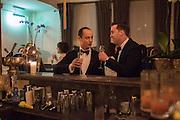 ZAIN GETTY; CHRIS GOULDER, Nicky Haslam hosts dinner at  Gigi's for Leslie Caron. 22 Woodstock St. London. W1C 2AR. 25 March 2015