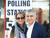 Sadiq Khan voting 5th May 2016