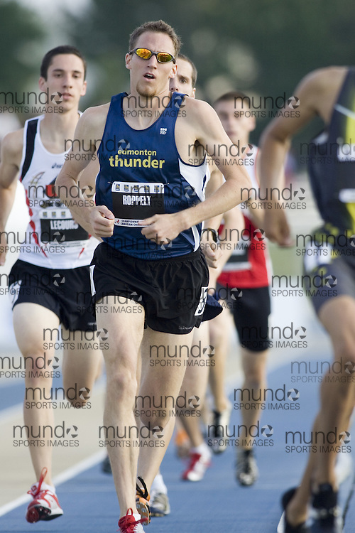 14 July 2007 (Windsor--Canada) --  Brian Roppelt  in the 800m heats at the 2007 Canada National Track and Field Championships...