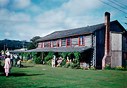CS00931-19. Cannon Beach Hotel shortly after becoming the Christian Conference Center, Cannon Beach, Oregon, August, 1952