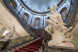 Stairway at Bode Museum on Museumsinsel, Berlin, Germany