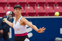 Mona Barthel (Germany) at the 2017 WTA Ericsson Open in Båstad, Sweden, July 27, 2017. Photo Credit: Katja Boll/EVENTMEDIA.