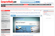 Twitter / Computer Weekly / March 2009