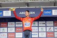 Eisberg sprints jersey during Stage 8 of the AJ Bell Tour of Britain 2021 between Stonehaven to Aberdeen, , Scotland on 12 September 2021.