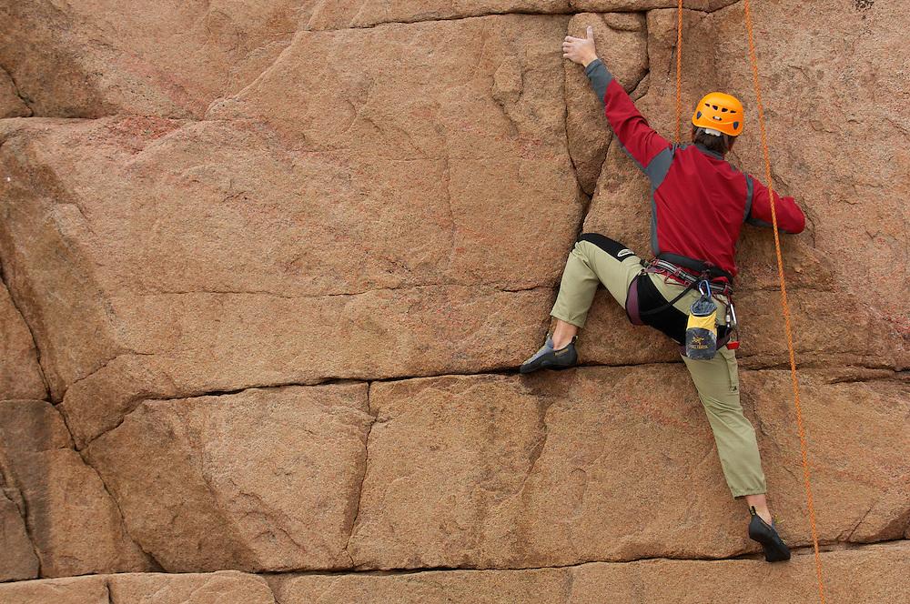 Climbing; Smögen;  Bohuslan; Smogen; Bohuslän; Sweden