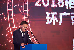 David Lappartient at The UCI Cycling Gala 2018 in Guilin, China on October 21, 2018. Photo by Sean Robinson/velofocus.com