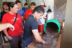 Watching The Process,  Mindo Chocolate Makers