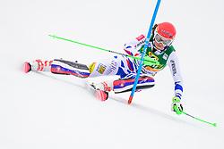 January 7, 2018 - Kranjska Gora, Gorenjska, Slovenia - Petra Vlhova of Slovakia competes on course during the Slalom race at the 54th Golden Fox FIS World Cup in Kranjska Gora, Slovenia on January 7, 2018. (Credit Image: © Rok Rakun/Pacific Press via ZUMA Wire)
