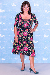 © Licensed to London News Pictures. 24/08/2017. London, UK. Series creator DAISY GOODWIN attends the launch of the ITV series VICTORIA season 2. Jenna plays Queen Victoria in the series. Photo credit: Ray Tang/LNP