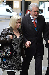 Rolf Harris and his daughter Bindi Nicholls (pictured) arrive at Southwark Crown Court, London, UK.<br /> <br /> Tuesday 3rd June 2014.<br /> Picture by Ben Stevens / i-Images