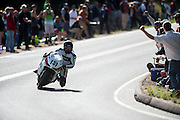 June 30, 2013 - Pikes Peak, Colorado.  Dan Elders makes his run up the mountain during the 91st running of the Pikes Peak Hill Climb.