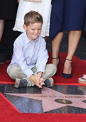 Jennifer Garner Honored With Star On The Hollywood Walk Of Fame. 20 Aug 2018 Pictured: Samuel Garner Affleck. Photo credit: Jaxon / MEGA TheMegaAgency.com +1 888 505 6342
