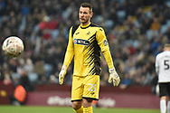 Swansea City goalkeeper Erwin Mulder (25) during the The FA Cup 3rd round match between Aston Villa and Swansea City at Villa Park, Birmingham, England on 5 January 2019.