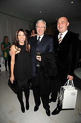 Left to right, DANNI MINOGUE, PAUL O'GRADY and AL MURRAY at a reception before the launch of the English National Ballet Christmas season launch of The Nutcracker held at the St,Martins Lane Hotel, London on 5th December 2008.