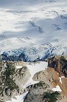 Crevasses on Challenger Glacier North Cascades National Park