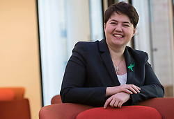 Scottish Conservative & Unionist leader, Ruth Davidson launches a new Mental Health policy at PwC in Edinburgh.