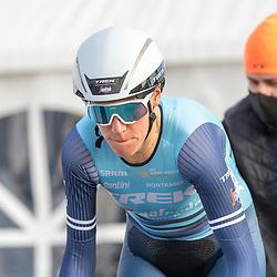 11-03-2021: Wielrennen: Healthy Ageing Tour: Lauwersoog <br />Ellen van Dijk