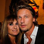 NLD/Tilburg/20101010 - Inloop musical Legally Blonde, Laura Vlasblom en partner Michel Veenman