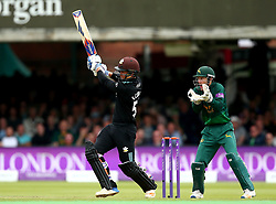 Sam Curran of Surrey hits out - Mandatory by-line: Robbie Stephenson/JMP - 01/07/2017 - CRICKET - Lord's Cricket Ground - London, United Kingdom - Nottinghamshire v Surrey - Royal London One-Day Cup Final 2017