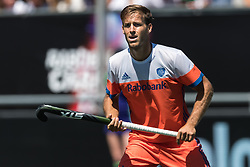 Jeroen Hertzberger of The Netherlands during the Champions Trophy finale between the Netherlands and Argentina on the fields of BH&BC Breda on Juli 1, 2018 in Breda, the Netherlands.