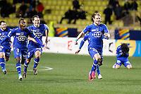 Joie Bastia - Guillaume Gillet - 04.02.2015 - Monaco / Bastia - 1/2Finale Coupe de la Ligue<br /> Photo : Sebastien Nogier / Icon Sport