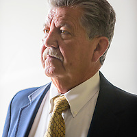 022315       Adron Gardner<br /> <br /> Richard Ross poses for a portrait at the Gallup Independent Monday.  Ross is running for City Councilor Dist. 4.