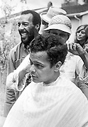 "Civil rights leader, politician, actor and former Chairman of the NAACP, Julian Bond, has died at age 75. Bond talks with folksinger Richie Havens who was urging him to ""go for a fro"" during the filming of the 1977 feature film, ""Greased Lightning"".  The film starred Grier, Richard Pryor and Beau Bridges and chronicled the life of the first African American NASCAR driver - Wendell Scott. with folksinger Richie Havens during the filming of the 1977 feature film, ""Greased Lightning"".  The film starred Grier, Richard Pryor and Beau Bridges and chronicled the life of the first African American NASCAR driver - Wendell Scott."