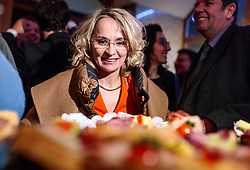 25.02.2018, Innsbruck, AUT, Landtagswahl in Tirol 2018, im Bild Spitzenkandidatin Elisabeth Blanik (SPOe) während der Wahlfeier der SPOe // celebrate after the State election in Tyrol 2018. Innsbruck, Austria on 2018/02/25. EXPA Pictures © 2018, PhotoCredit: EXPA/ JFK