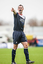 Falkirk's David McCracken.<br /> Falkirk 1 v 0 Queen of the South, Scottish Championship game today at the Falkirk Stadium.<br /> © Michael Schofield.