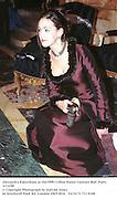 Alexandra Pakenham at the1998 Crillon Haute Couture Ball. Paris. 6/12/98<br />© Copyright Photograph by Dafydd Jones<br />66 Stockwell Park Rd. London SW9 0DA<br />Tel 0171 733 0108