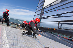 Onboard the AC72. Artemis Racing April 11th 2013, Alameda, USA